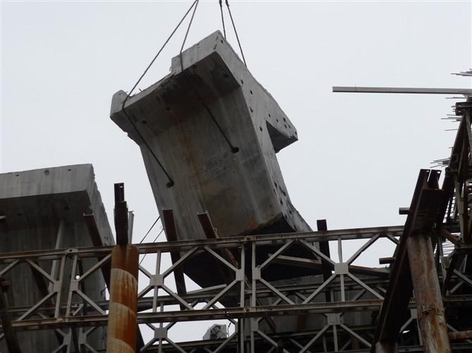 太原二广高速高速桥梁切割拆除工程案例