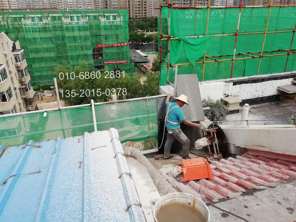 太原老旧小区改造拆除|静力拆除切割工程案例