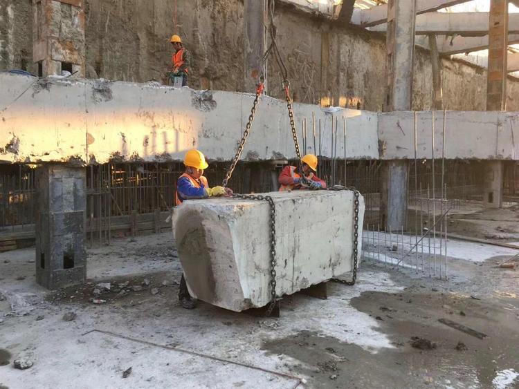 太原混凝土切割公司更有利于实现建筑资源循环利用