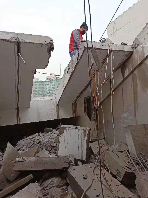 太原拆除施工队 线锯切割拆除高质高效