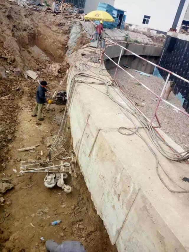 太原工厂车间改造拆除|设备基础切割|无损拆除施工案例
